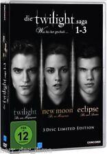 DIE TWILIGHT SAGA 1-3 (3 DVDs) NEU+OVP