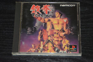 Used-PS-ONE-TEKKEN-PS1-SONY-PLAYSTATION-JAPAN-IMPORT