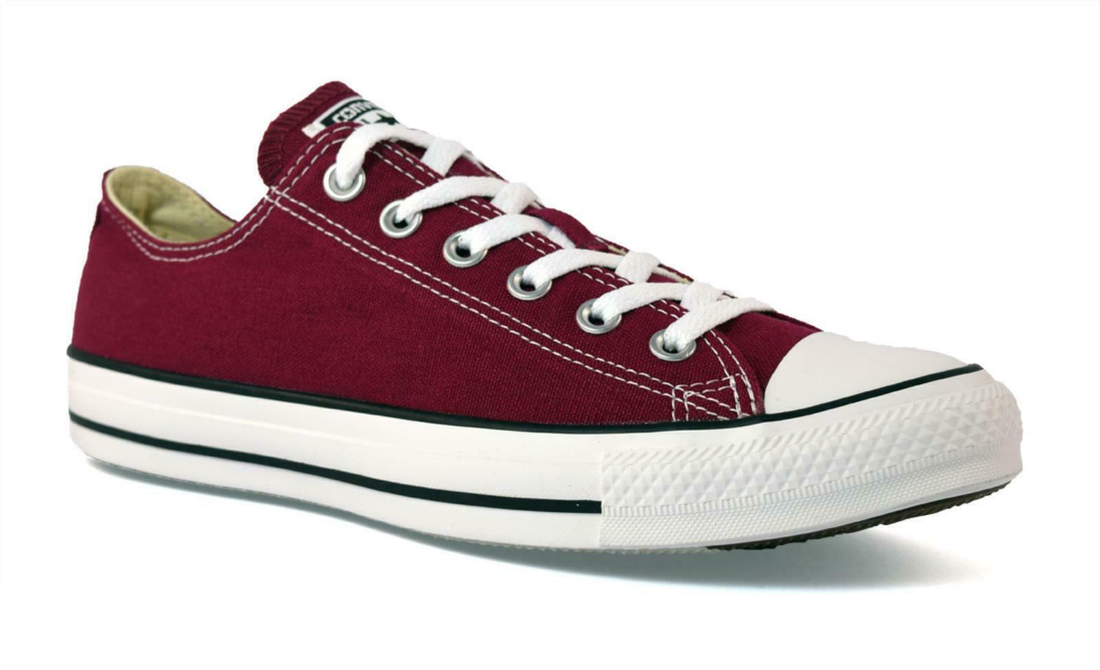 zapatillas CONVERSE ALL STAR M9691 UNISEX TELA BORDEAUX