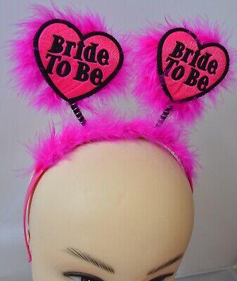Hen Party Heart Deeley Bopper Headband Fancy Dress *Sale*