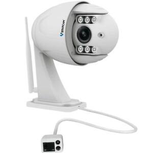 2.0MP FHD 4X  IP Camera Wireless PTZ Dome Outdoor CCTV Cam VStarcam C34S-X4