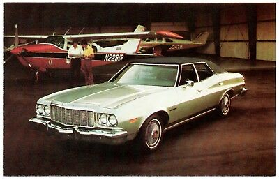 1969 Ford TORINO GT Sportsroof Original Dealer Promotional Postcard UNUSED VG ^