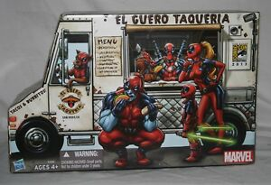 Marvel Universe Corps Deadpool Taco Truck Sdcc 2013 3.75 Misb