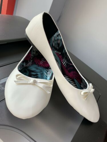 White Ballerina New With Tags Shoes Ladies Size 5 PdxqUT