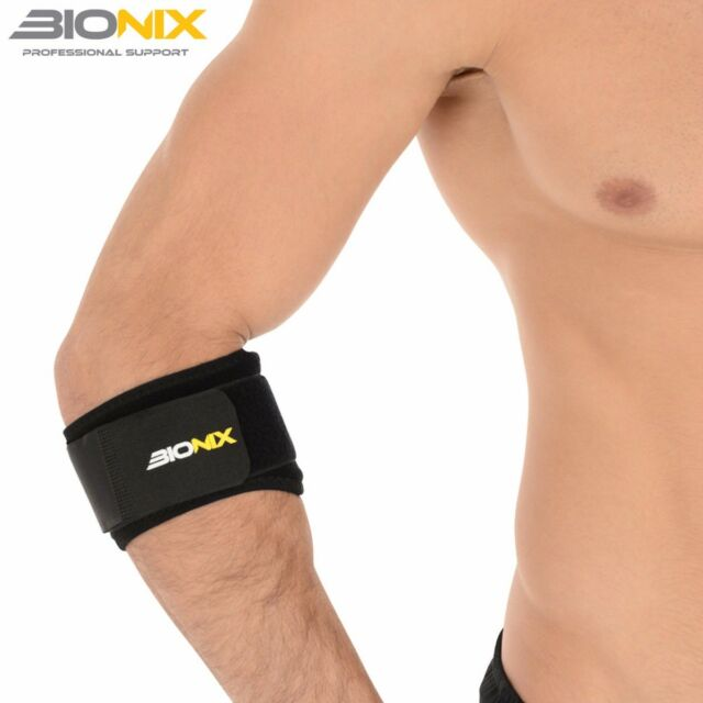 Bionix Tennis Elbow Support Brace Golfer's Strap Epicondylitis Clasp Lateral Gym