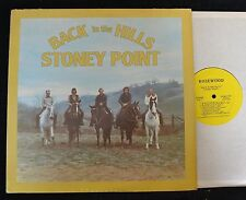 BLUEGRASS LP Stoney Point Back In the Hills Kanawha Records 1002