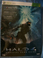 Halo 4 Xbox 360 Official Game Guide Brand Factory Sealed Paperback