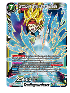 BT3-084 SR ♦Dragon Ball Super♦ Bardock Super Saiyan Guerrier de l/'adversité