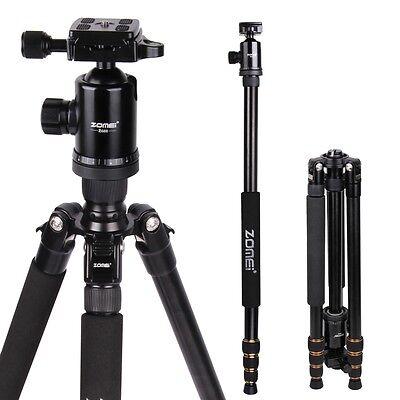 ZOMEI Z688 Portable Pro Aluminum Tripod Monopod&Ball Head Travel for DSLR Camera