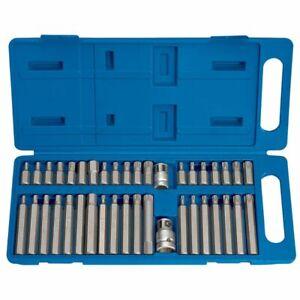 Draper-Tools-40-Piece-Hexagonal-Torx-amp-Spline-Bit-Mechanic-Set-TX-STAR-33323