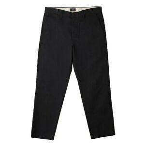 Obey-Straggler-Flooded-Pants-Pantalone-Uomo-142020113-BLK-Black