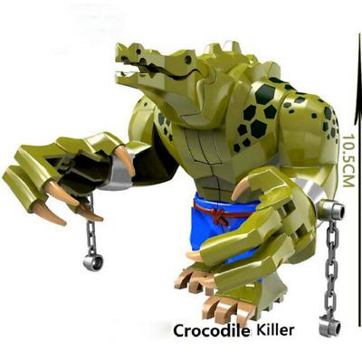 Crocodile Killer Killer Croc Batman Movie Leko Moc Minifigure Venom Toys