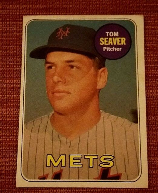 1969 Topps Tom Seaver 480 Baseball Card