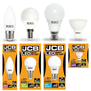 JCB-Menage-lampe-LED-Gamme-Bougie-Balles-de-golf-GLS-amp-GU10-3000K-amp-6500K