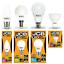 JCB-Menage-lampe-LED-Gamme-Bougie-Balles-de-golf-GLS-amp-GU10-3000K-amp-6500K miniature 1