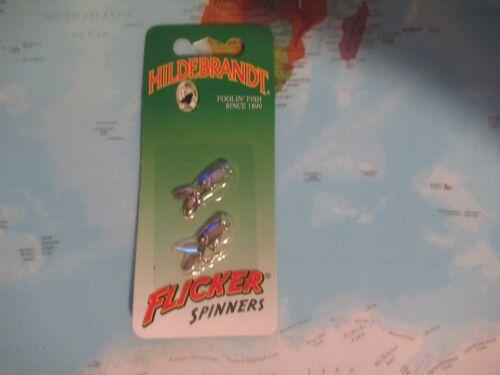 Hildebrandt Taille 0 Nickel Flicker Spinners 0FLN Pack NEUF!!!