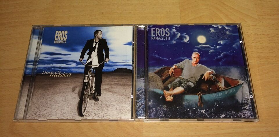 Eros Ramazzorti: Samlet pakke 6 cd'er velholdte, pop