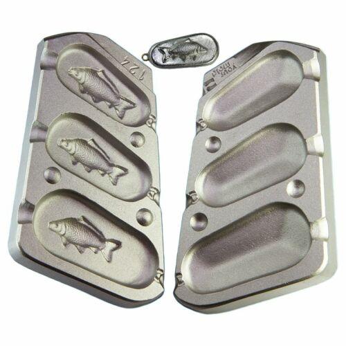 200 grams 140g Carp 3d fishing lead mold  110g