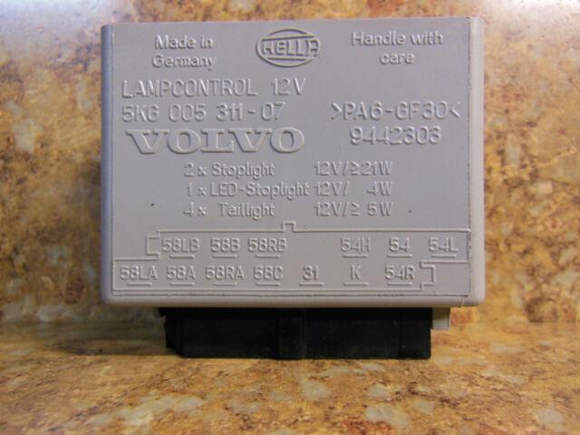 1998-2000 OEM Volvo V70 S70 C70 Lamp Control Module 9442303