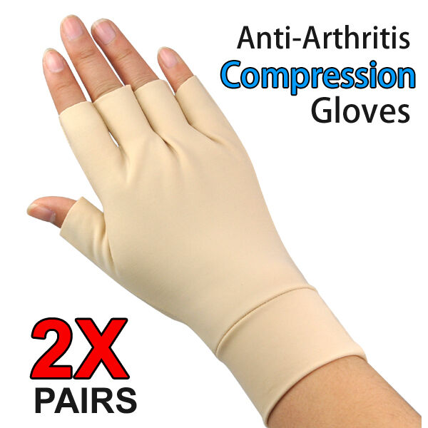Anti Arthritis Gloves Arthritic Hand Compression Ache Pain Therapy Pharmedics