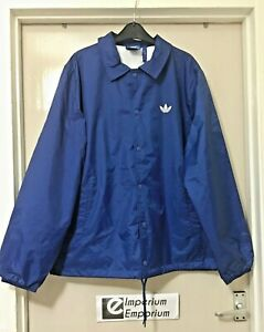 Details about Men's Adidas Originals x Nigo Coach Windbreaker Jacket Blue Size M (M69177)