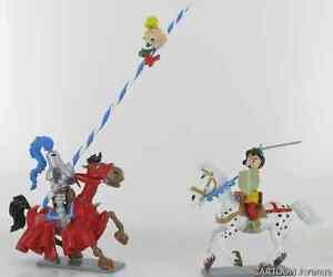 LA-FLECHE-NOIRE-JOHAN-PIRELOUIT-schtroumpf-peyo-pixi-bd-figurines-de-collection