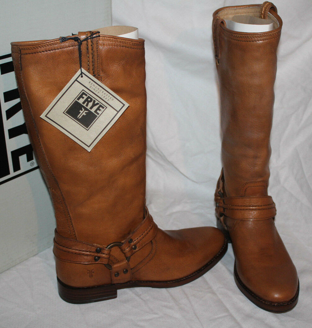 FRYE  MAXINE TRAPUNTO HARNESS LIGHT TAN us $398