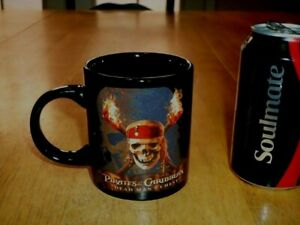 DISNEY-PIRATES-OF-THE-CARIBBEAN-034-DEAD-MAN-039-S-CHEST-034-Ceramic-Coffee-Cup-Mug