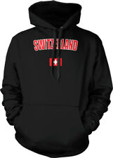 Switzerland Swiss Flag Nationalistic Heritage Country Pride Hoodie Pullover