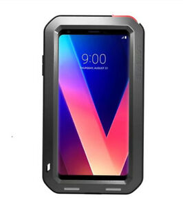 LOVE-MEI-Metal-Water-Shockproof-Glass-Powerful-Case-Cover-For-LG-V30-V30-Plus