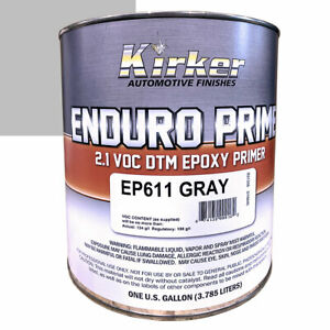Details about Kirker Enduro Prime Epoxy Primer 1 Gallon - Gray - EP611