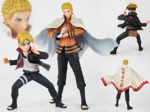 Anime Naruto Jouets Uzumaki Naruto Boruto Figure Figurines Statues 2pcs 11-17cm