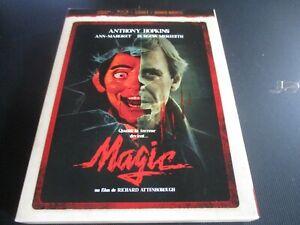 "COFFRET BLU-RAY ""MAGIC"" Anthony HOPKINS, Ann-Margret, Burgess MEREDITH - horreur"