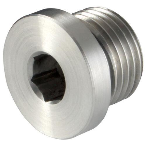 "Acier Inoxydable 316 compression Raccords 3//4/"" BSPP Mâle d/'obturation plug 316 1-075"