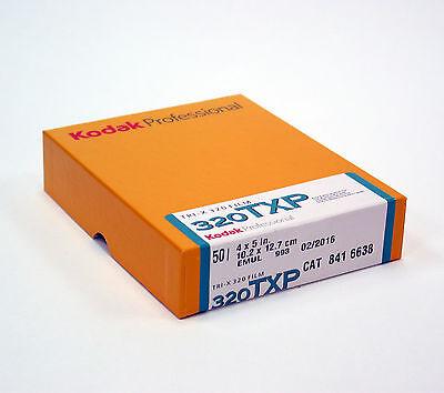 """Kodak Tri-X 320 4x5"""" ( 50 Sheets ) Black & White Film. Brand New, #Filmisnotdead"""