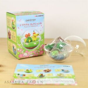Pokemon-Terrarium-Collection-vol-6-5-Treecko-Mini-Figure-From-Japan