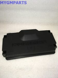 details about hummer gm oem 2006 h3 3 5l l5 fuse relay box upper cover 15844337