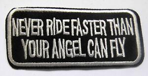 Never-Ride-Faster-Aufnaeher-Patch-Sprueche-Biker