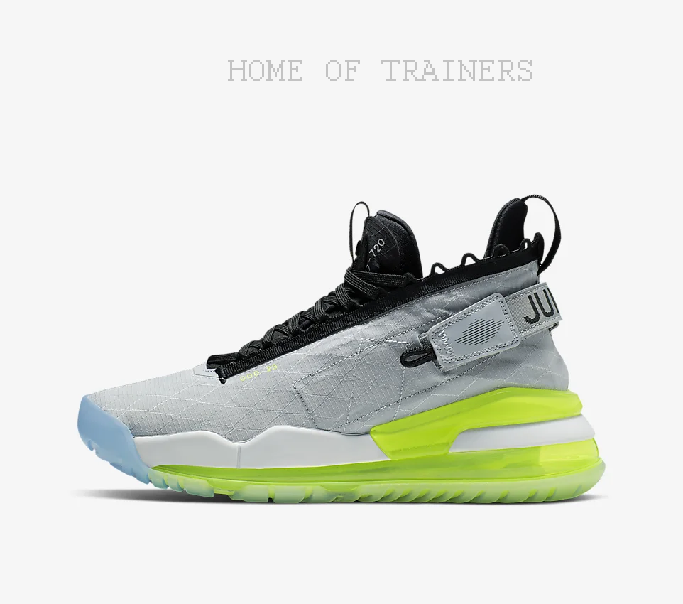 Nike Jordan Prougeo-Max 720 Wolf gris Volt Pur De Sport Hommes Toutes Tailles