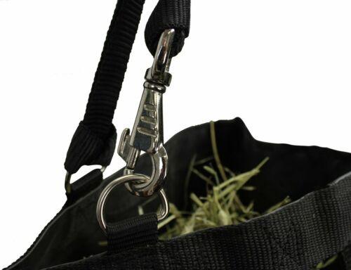 "Derby Originals 1/"" Nylon Slow Feed Hay Bag Super Tough Bottom 6 Month Warranty"