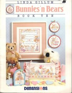 Cross-Stitch-Patterns-Bunnies-N-Bears-8-Patterns-Projects-Crafts