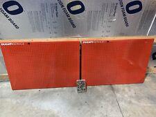 Official Ducati Metal Service Peg Board From Ducati Dealership Service Station