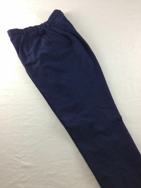 NEW US AIR FORCE DRESS PANTS WOMENS POLY WOOL USAF BLUE 1620 Many Sizes