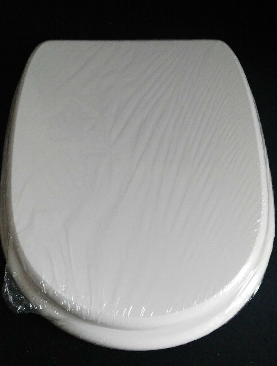 Sitz Toilettensitz für Hidra Angela Wc Sitz Polyester Gegossen Scharnieren Chrom