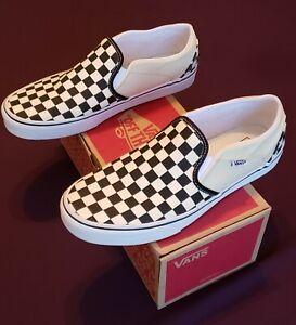 Vans Slip On Checkerboard Size 9 5 Men 11 Women Visit Our Ebay Store Ebay