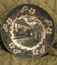 Royal Tudor Ware - Coaching Taverns Dinner Plate