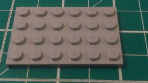 Lego 3032 Plate 4 X 6 Studs  x4