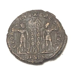 Authentic-Ancient-Roman-Copper-Coin-Unidentified-Token-Artifact-Antiquity-Old-I