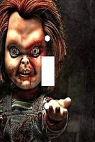 Decoupage Decorative Light Switch Covers - Chucky Doll - Made To Order