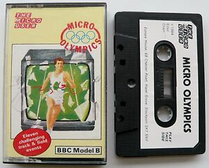 Micro Olympics By The Micro User For BBC Model B   Tape - <span itemprop='availableAtOrFrom'>Nottingham, United Kingdom</span> - Micro Olympics By The Micro User For BBC Model B   Tape - Nottingham, United Kingdom